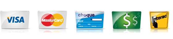 VISA - MASTERCARD - ARGENT - CHEQUE